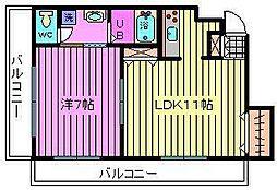かわむらハウス[2階]の間取り