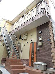 神奈川県川崎市幸区小倉の賃貸アパートの外観