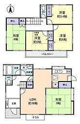 [一戸建] 千葉県八千代市緑が丘2丁目 の賃貸【/】の間取り