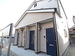 兵庫県姫路市飾磨区思案橋の賃貸アパートの外観