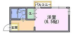 BIOS長岡京[1階]の間取り
