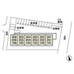 グレースアベニュー桜木[206号室]の外観
