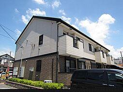 愛知県あま市中萱津定段寺の賃貸アパートの外観