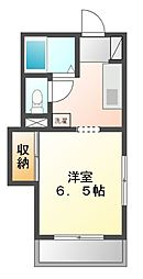 サニーライフ小川II[2階]の間取り