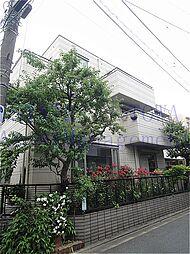 東京都目黒区目黒本町3丁目の賃貸アパートの外観