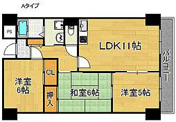 エテルノ21[1階]の間取り