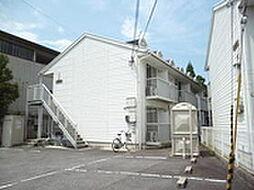 滋賀県湖南市岩根の賃貸アパートの外観