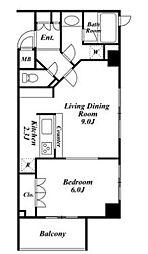 スペーシア三軒茶屋弐番館[3階]の間取り