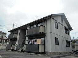 コーポサトウB[1階]の外観