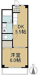 榎本マンション[3階]の間取り