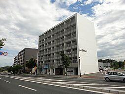 福岡県北九州市若松区小敷ひびきの3丁目の賃貸マンションの外観