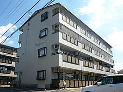 滋賀県東近江市沖野2丁目の賃貸マンションの外観