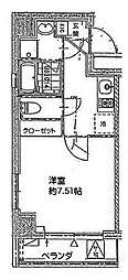 パウロニアバレーテイク4西横浜[7階]の間取り