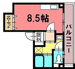 サン番町ビル[3階南号室]の間取り