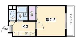 サンシャイン東山[203号室号室]の間取り