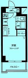 エヴェナール二子新地[7階]の間取り