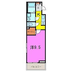 大府市 新築 ライズ フェルド[1階]の間取り