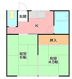 [一戸建] 神奈川県小田原市南鴨宮3丁目 の賃貸【/】の間取り