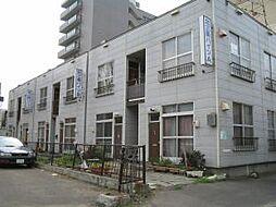 北海道札幌市中央区北三条東8丁目の賃貸アパートの外観