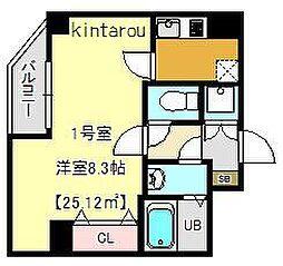 テラス東浅草[2階]の間取り