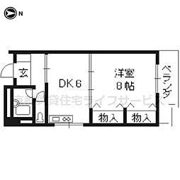 第1正美堂ビル[713号室]の間取り