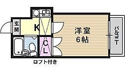 山科第3[106号室号室]の間取り