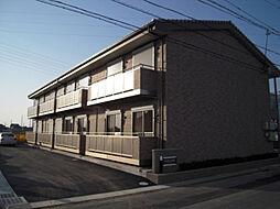 愛知県西尾市富山町銭成畑の賃貸アパートの外観