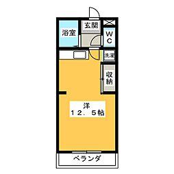 NEW FIVE[2階]の間取り