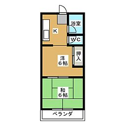 CASADAIYA[2階]の間取り