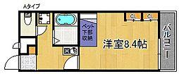 レオパレスHIGASHINOII[1階]の間取り