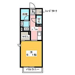 (仮)ベレオ刈谷大正町 3階1Kの間取り