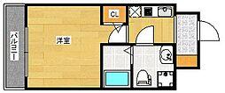 FDS Court Felice[5階]の間取り