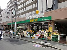 スーパーあまいけ 久米川店 877m