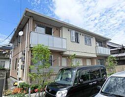 愛媛県松山市余戸西1丁目の賃貸アパートの外観