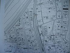 敷地所在図です