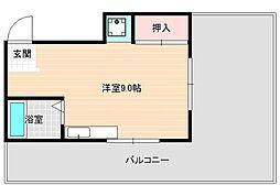 福田ポリス[5階]の間取り