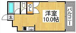 フォレスト・ウインド・イン姪浜 -初期費用6万円以内-[101号室号室]の間取り