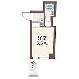 ラコンテ・スィエル[6階]の間取り