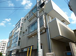 東京都府中市朝日町2丁目の賃貸マンションの外観