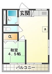 グランシャリオ1番館[3階]の間取り