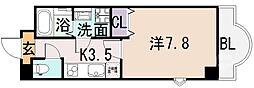 ルミエール八尾駅前[10階]の間取り