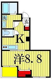 アクロポリスお花茶屋[301号室]の間取り