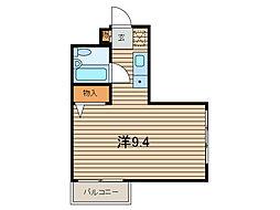 サンコート東浦和[3階]の間取り