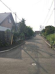 前面道路 北側