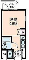 神奈川県横浜市磯子区杉田5丁目の賃貸マンションの間取り
