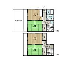 [タウンハウス] 埼玉県さいたま市緑区大字三室 の賃貸【/】の間取り