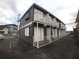 茨城県取手市白山2丁目の賃貸アパートの外観