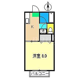シュプール[1階]の間取り