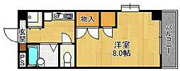 クレール仁川[105号室]の間取り