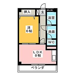 MTGビル[2階]の間取り